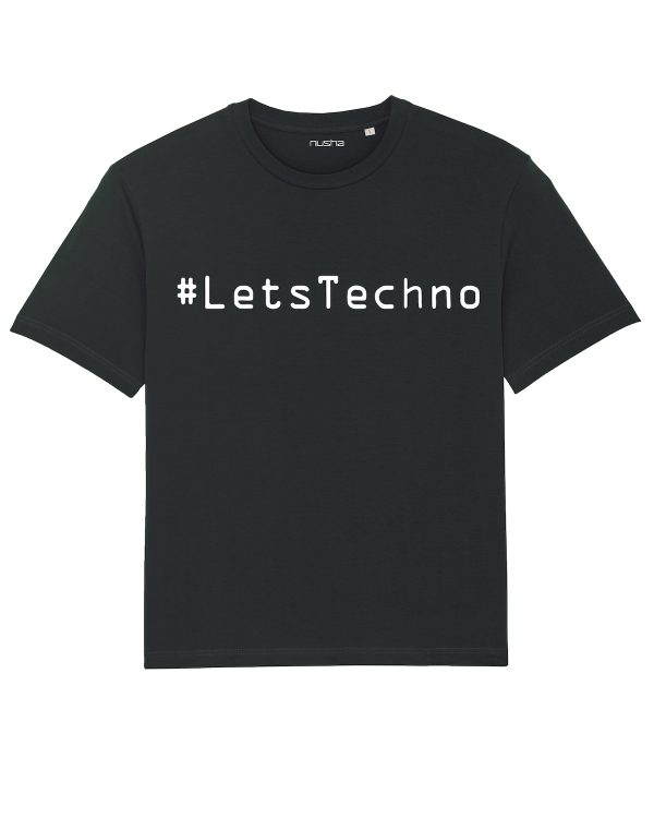 lets techno unisex t-shirt