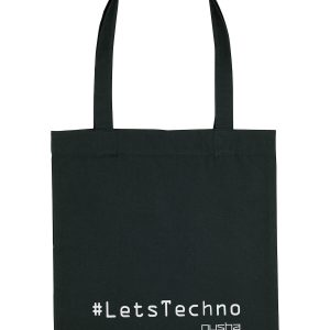 lets techno tote bag